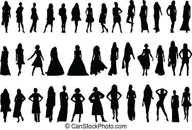 modèles, collection