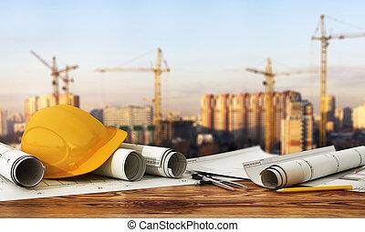 modèles, concepteur, render, panorama, site., concept, construction, 3d, outils, design.
