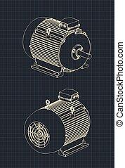 modèles, moteur électrique