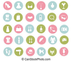 moda, ícones