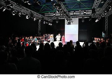 moda, apresentação