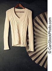 moda, backgound, com, algodão, roupas