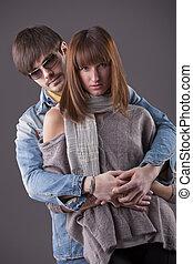 moda, coppia