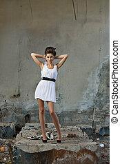 moda, estilo, foto