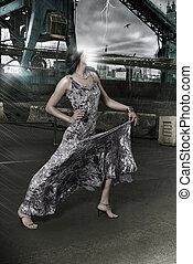 moda, faceless