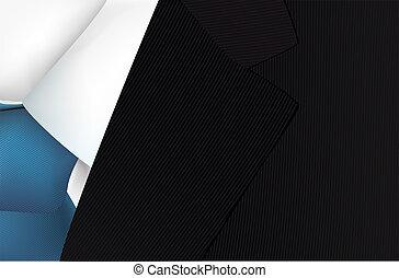 moda, haute, ilustración, alta costura, vector, italiano, vestido, hombre