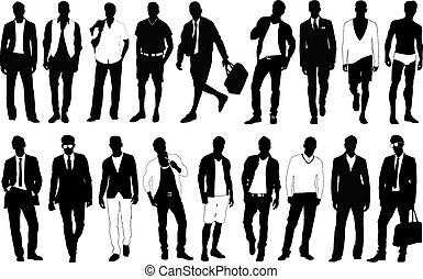 moda, homem