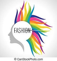 moda, illustrazione
