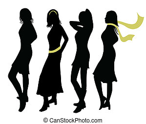 moda, mujer