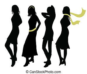 moda, mujeres