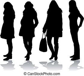 moda, mulheres