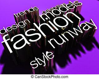moda, mundo