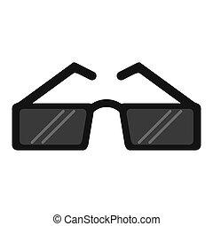 moda, occhiali da sole, accessorio