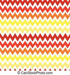 moda, pattern., seamless, ziguezague, experiência., vetorial, retro, chevron, cores