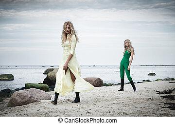 moda, praia