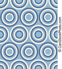 moda, resumen, patrón, con, círculos
