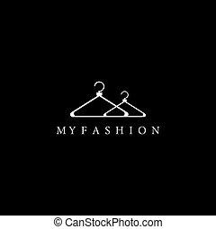 moda, sagoma, mio, logotipo
