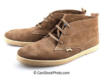 moda, sapato, homens