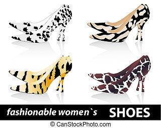moda, scarpe, donne