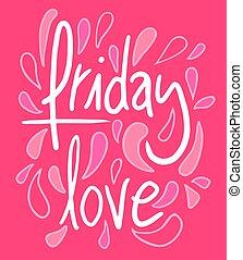 moda, sexta-feira, amor