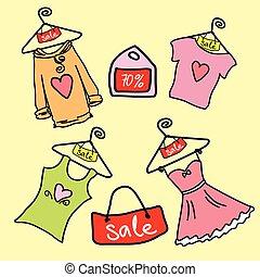 moda, shopping