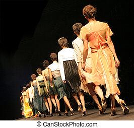 moda, show.