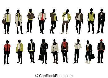 moda, uomo