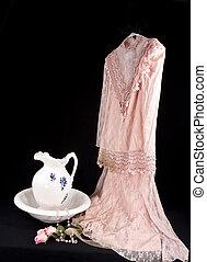 moda velha, vestido