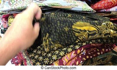mode, achats, coloré, mall., concept., hommes, clothes., ...