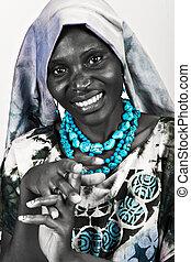 mode, afrikanisch