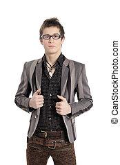 mode, Byxor, skjorta, män