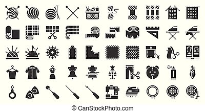 mode, couture, handcraft, conception, apparenté, icône