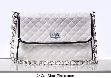 mode, dam, väska
