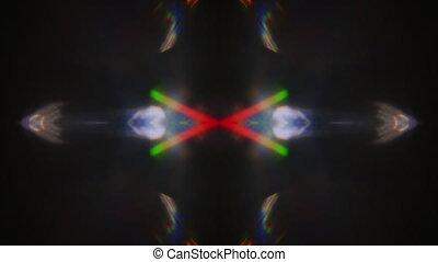 mode, dynamique, multicolore, arrière-plan., cyberpunk, ...