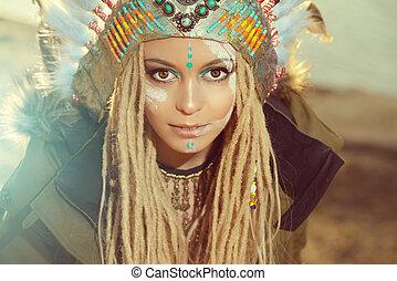 mode, etnisk