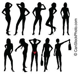 mode, femmes