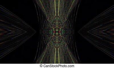mode, géométrique, arrière-plan., cyberpunk, désinvolte, scintillement