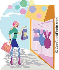 mode, indkøb