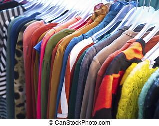 mode, kläder