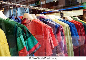mode, kleidung, kleiderbügel, weisen