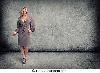 mode, kvinna