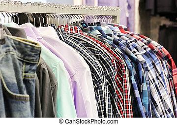 mode, lager, kläder