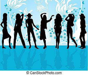 mode, mädels