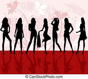 mode, meiden