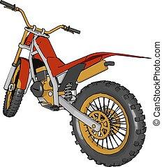 Mode of transportation Bike vector or color illustration