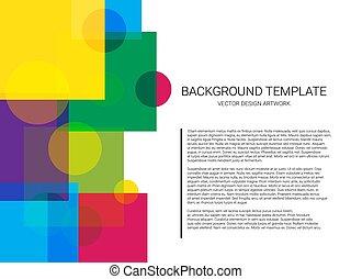 model, abstract, achtergrond., vector, geometrisch, minimaal, design.