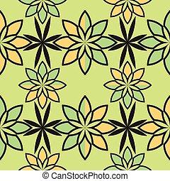 model, abstract, bloemen, geometrisch