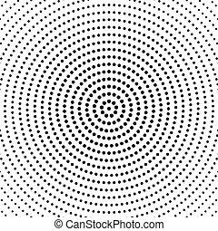 model, abstract, cirkel, ontwerp, achtergrond, geometrisch, ronde
