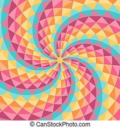 model, abstract, geometrisch