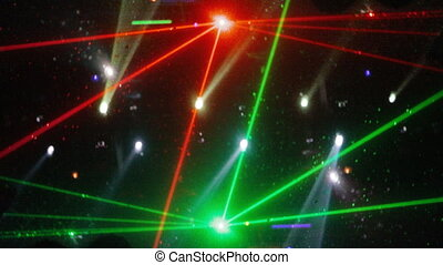 model, abstract, laser